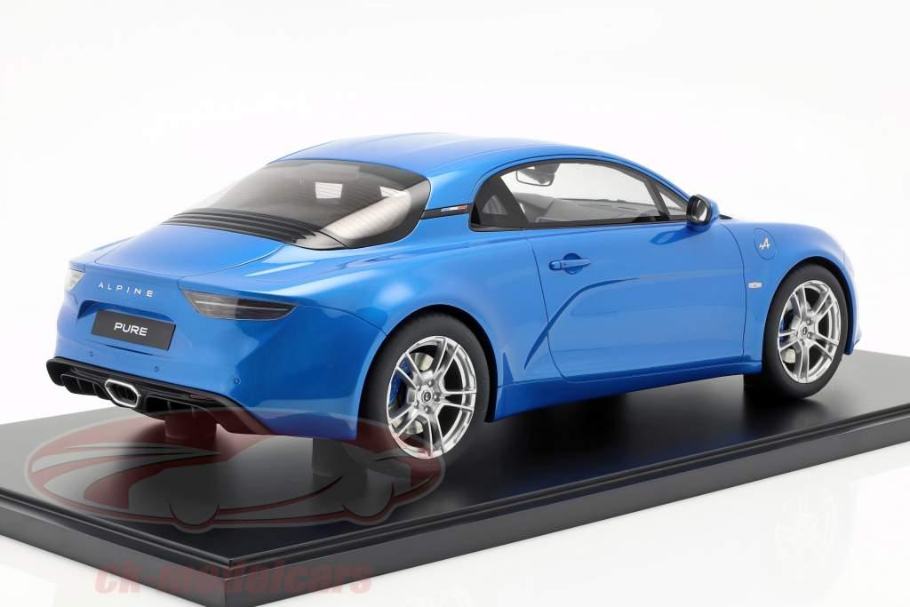 Renault Alpine A110 Pure año de construcción 2019 azul 1:8 GT-Spirit