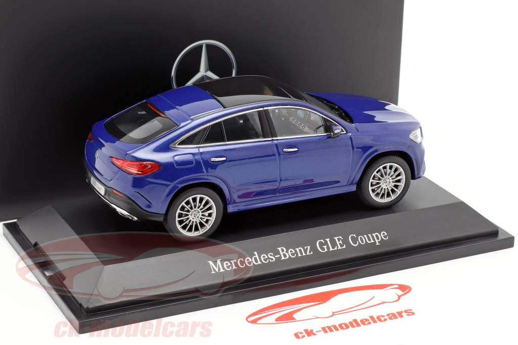 Mercedes-Benz GLE Coupe C167 brillante blu 1:43 iScale