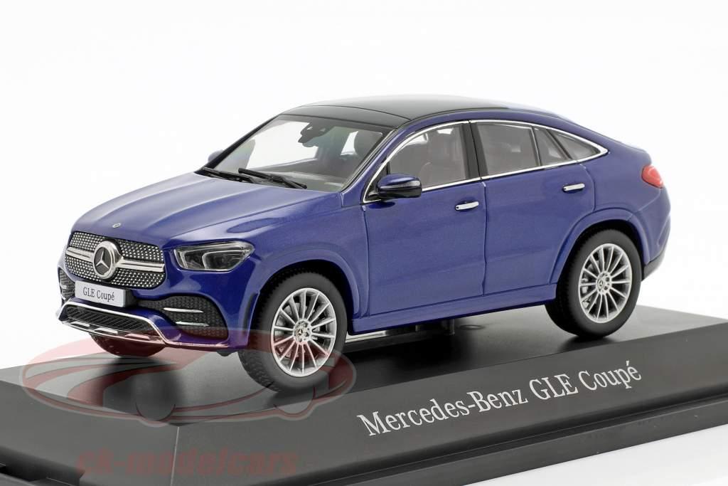 Mercedes-Benz GLE Coupe C167 strålende blå 1:43 iScale