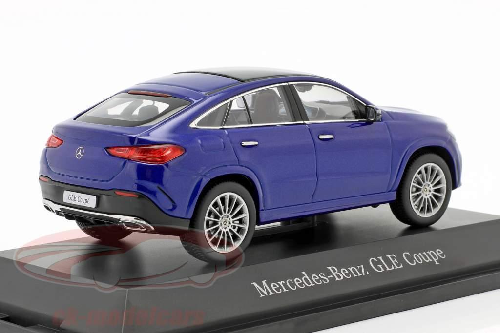 Mercedes-Benz GLE Coupe C167 briljant blauw 1:43 iScale