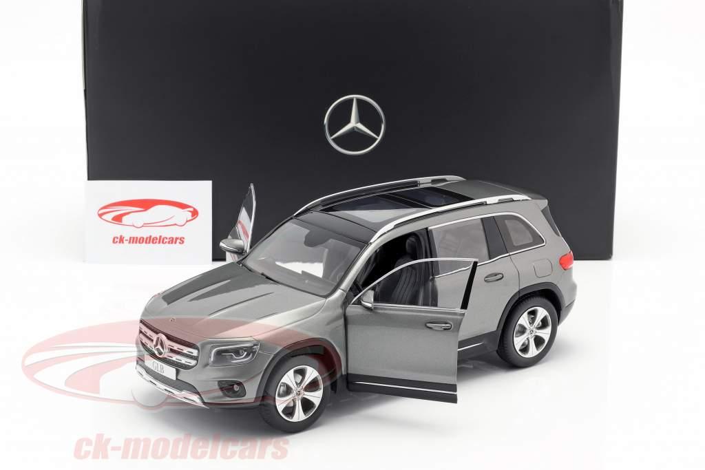 Mercedes-Benz GLB X247 cinza de montanha 1:18 Z-Models