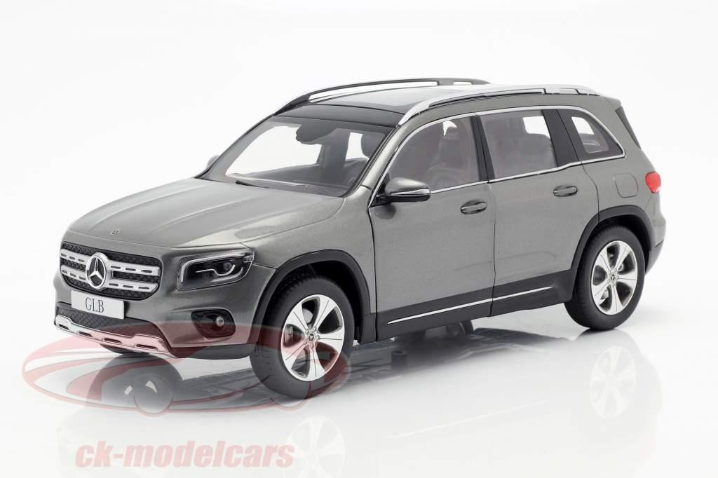 Mercedes-Benz GLB X247 grigio montagna 1:18 Z-Models