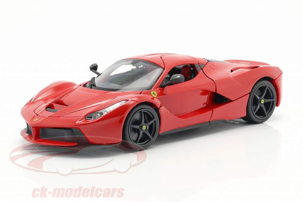 Ferrari LaFerrari rouge 1:18 Bburago