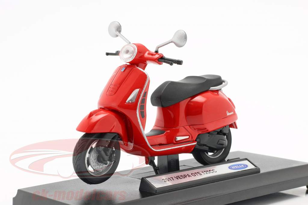 Toys Games 1 18 Welly 2017 Vespa Gts 125cc Metal Motorcycle Scooter Model 3 Colors Contemporary Manufacture Firebirddevelopersday Com Br