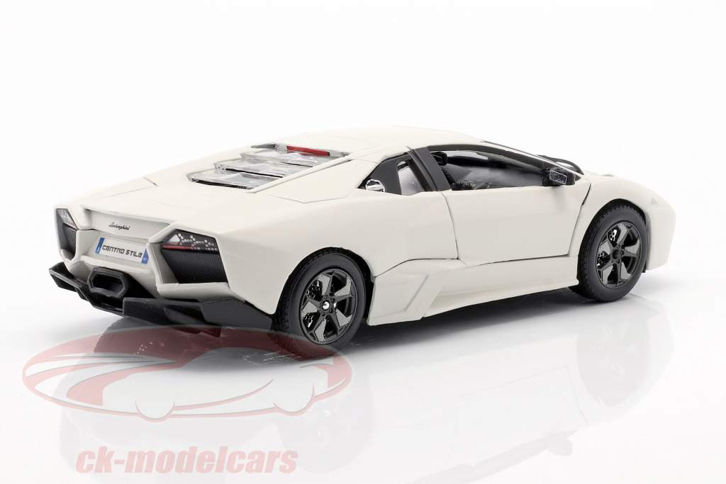 Lamborghini Reventon branco 1:24 Bburago