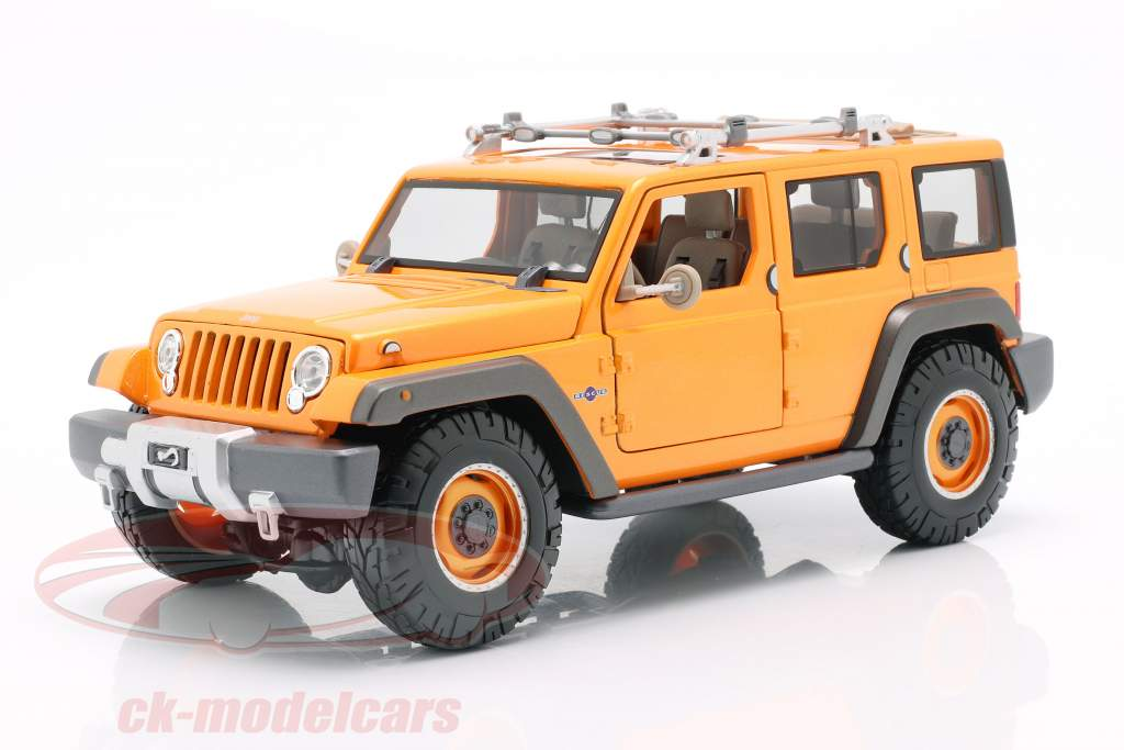 Jeep Wrangler Rescue Concept orange 1:18 Maisto