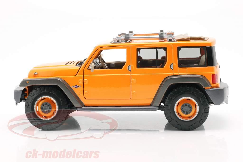 Jeep Wrangler Rescue Concept orange 1:18 Maisto