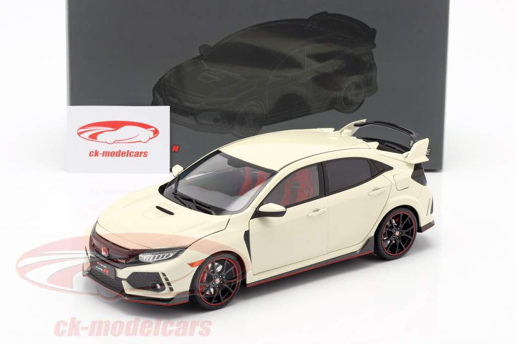 Honda Civic Type-R branco 1:18 LCD Models