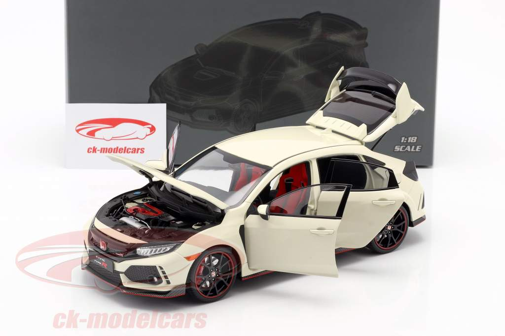 Honda Civic Type-R bianco 1:18 LCD Models
