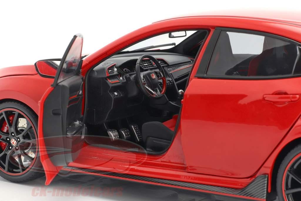 Honda Civic Type-R vermelho 1:18 LCD Models
