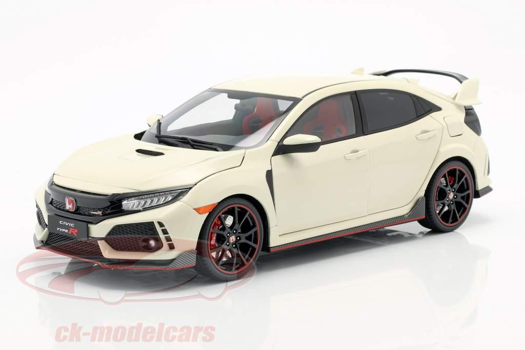 Honda Civic Type-R white 1:18 LCD Models