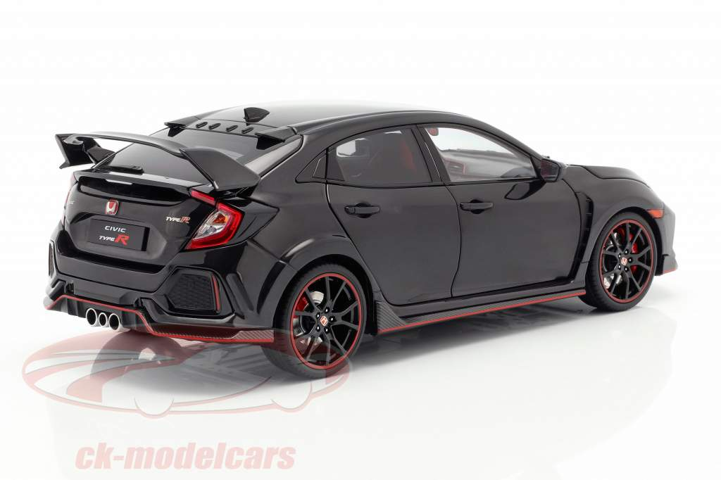 Honda Civic Type-R preto 1:18 LCD Models