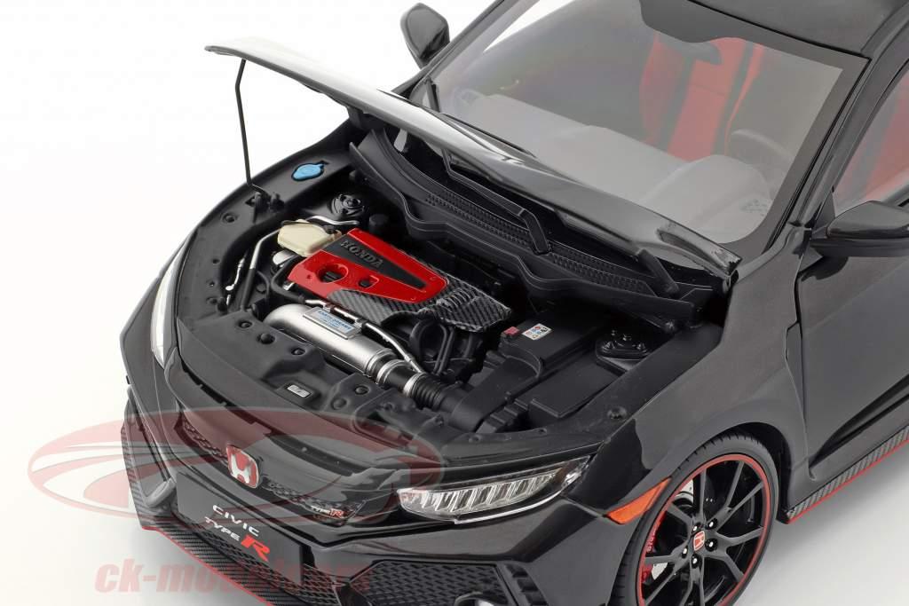 Honda Civic Type-R nero 1:18 LCD Models