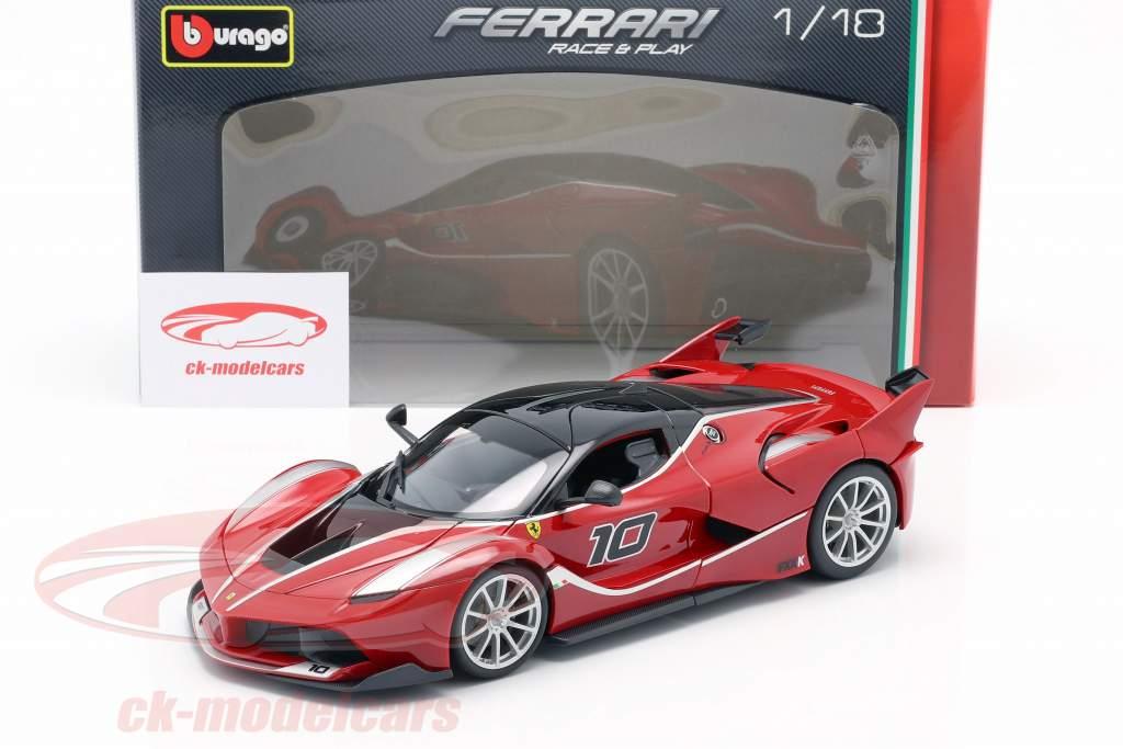 Ferrari FXX-K #10 rot / schwarz 1:18 Bburago