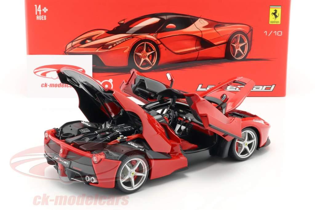 Ferrari LaFerrari red 1:18 Bburago Signature