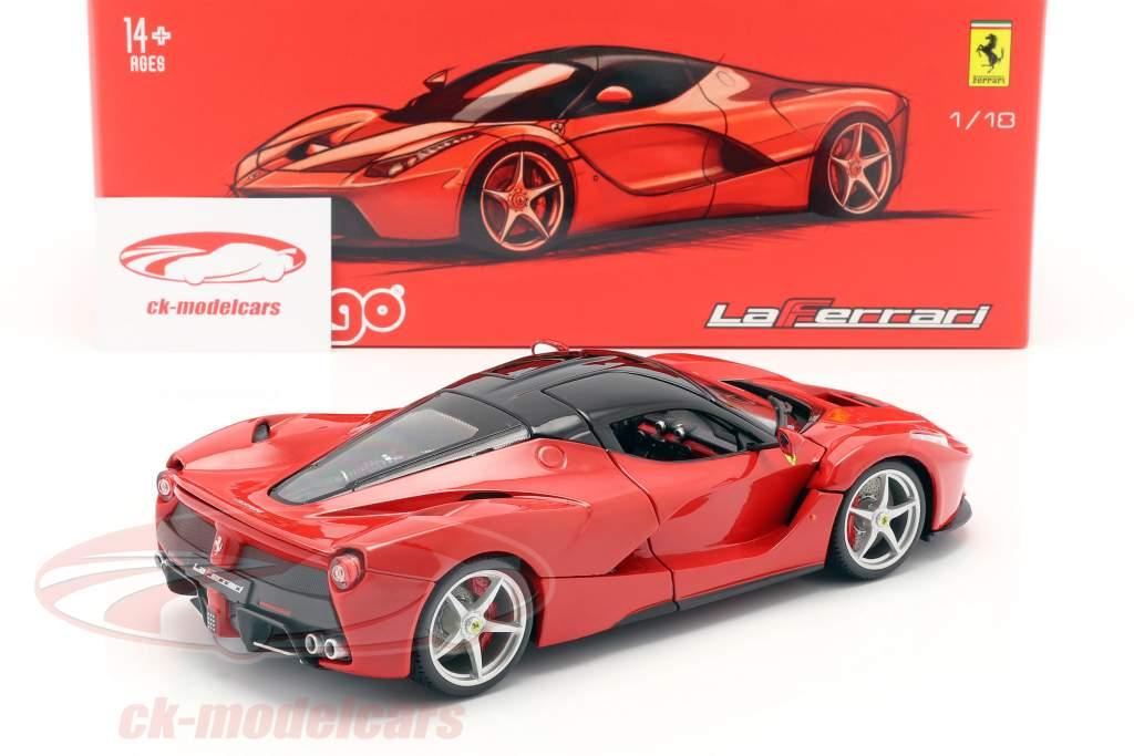 Ferrari LaFerrari rood 1:18 Bburago Signature