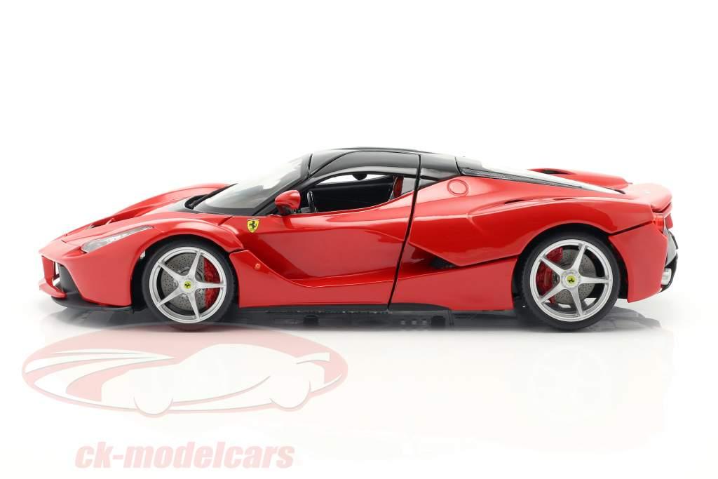 Ferrari LaFerrari rojo 1:18 Bburago Signature