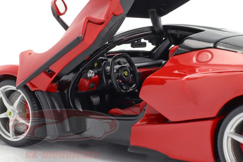 Ferrari LaFerrari rød 1:18 Bburago Signature