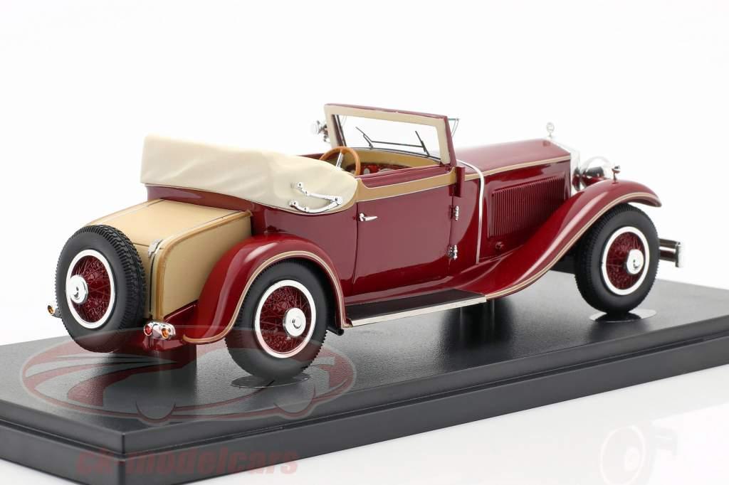 Simson Supra 18/90 Typ A anno di costruzione 1931 porpora 1:43 AutoCult
