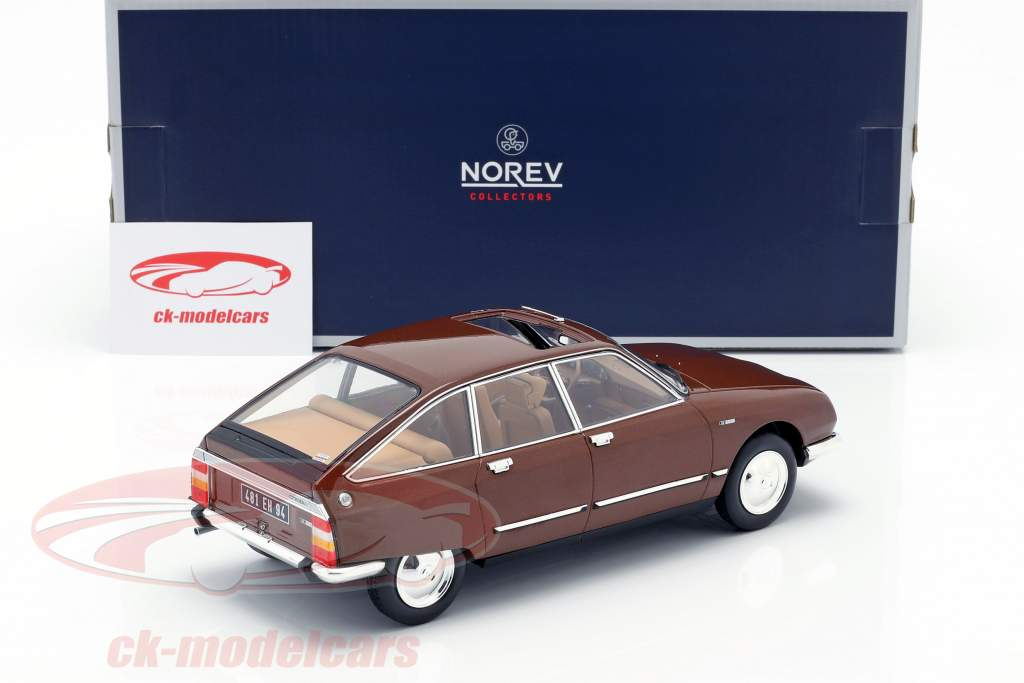 Citroen GS Pallas year 1978 brown 1:18 Norev