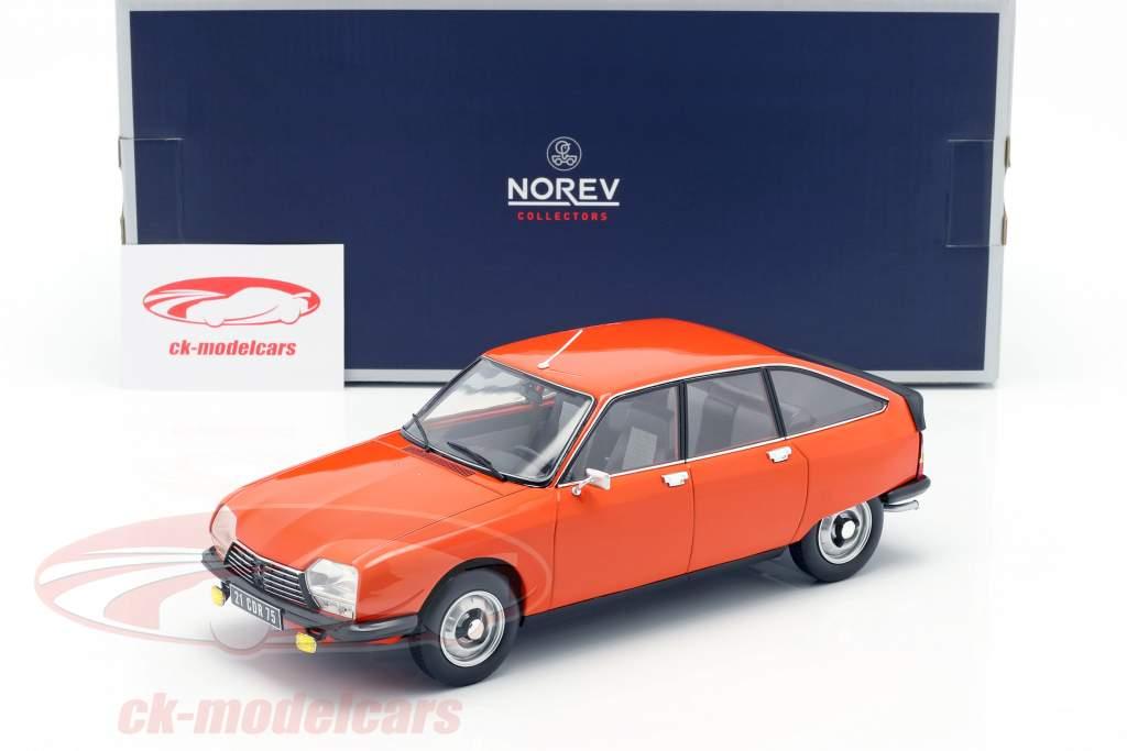 Citroen GS X2 año de construcción 1978 Ibiza naranja 1:18 Norev