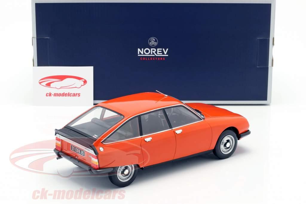 Citroen GS X2 Bouwjaar 1978 ibiza oranje 1:18 Norev