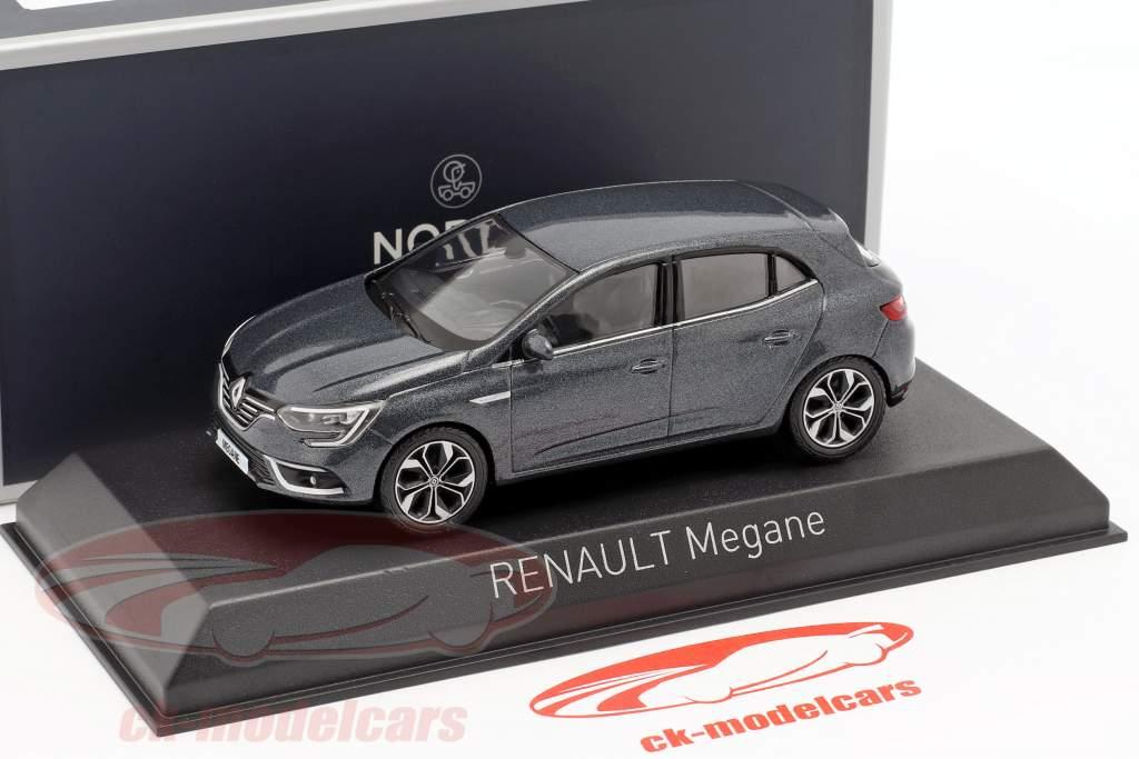 Renault Megane ano de construção 2016 titânio cinza 1:43 Norev