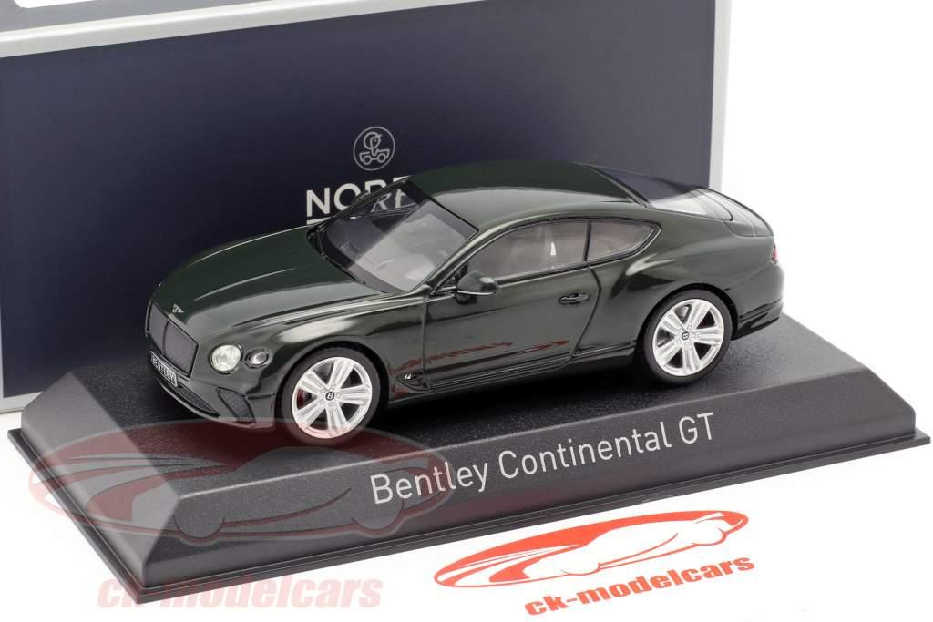Bentley Continental GT Baujahr 2018 racing green 1:43 Norev