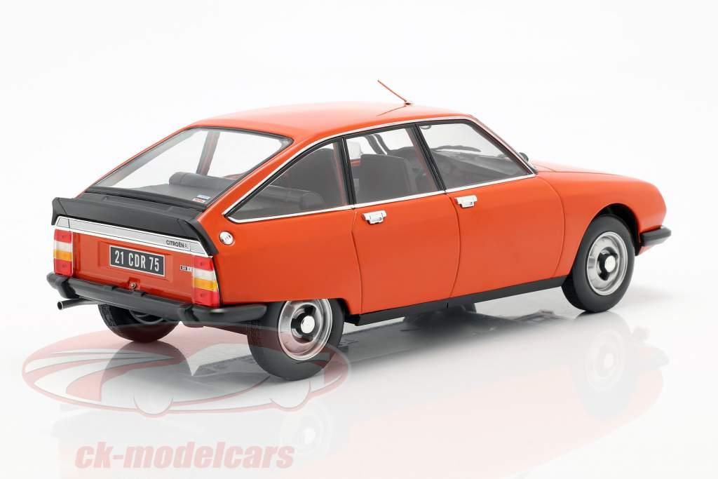 Citroen GS X2 année de construction 1978 ibiza orange 1:18 Norev