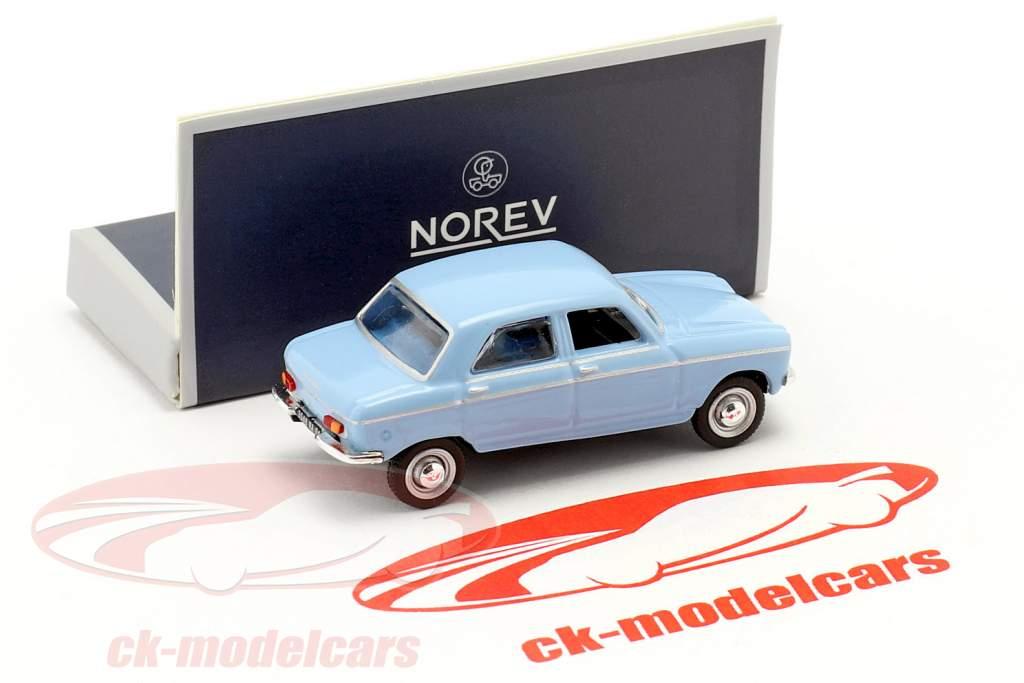 Peugeot 204 Baujahr 1966 blau 1:87 Norev