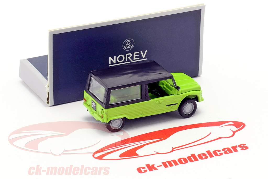Citroen Mehari Baujahr 1983 grün 1:87 Norev
