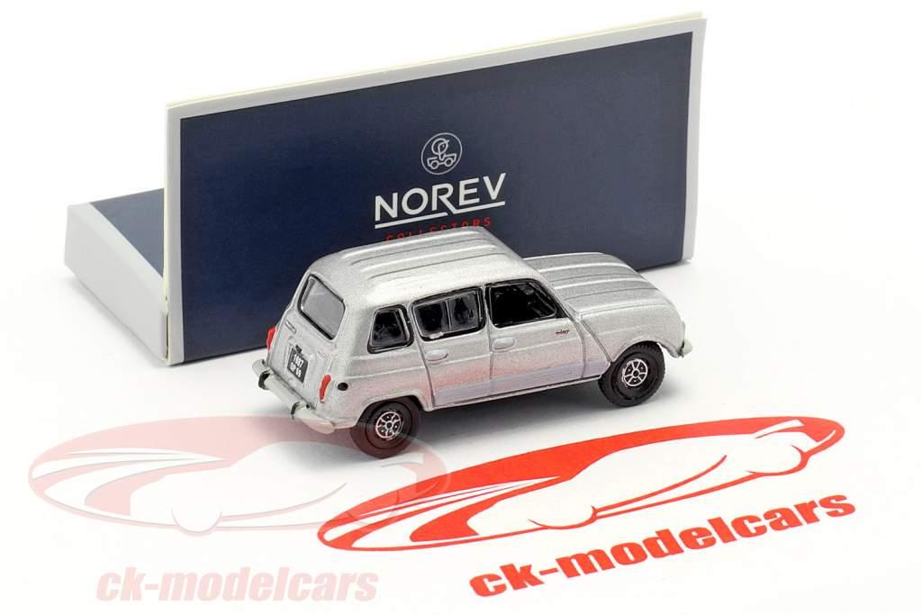 Renault 4 GTL Bouwjaar 1987 grijs metalen 1:87 Norev
