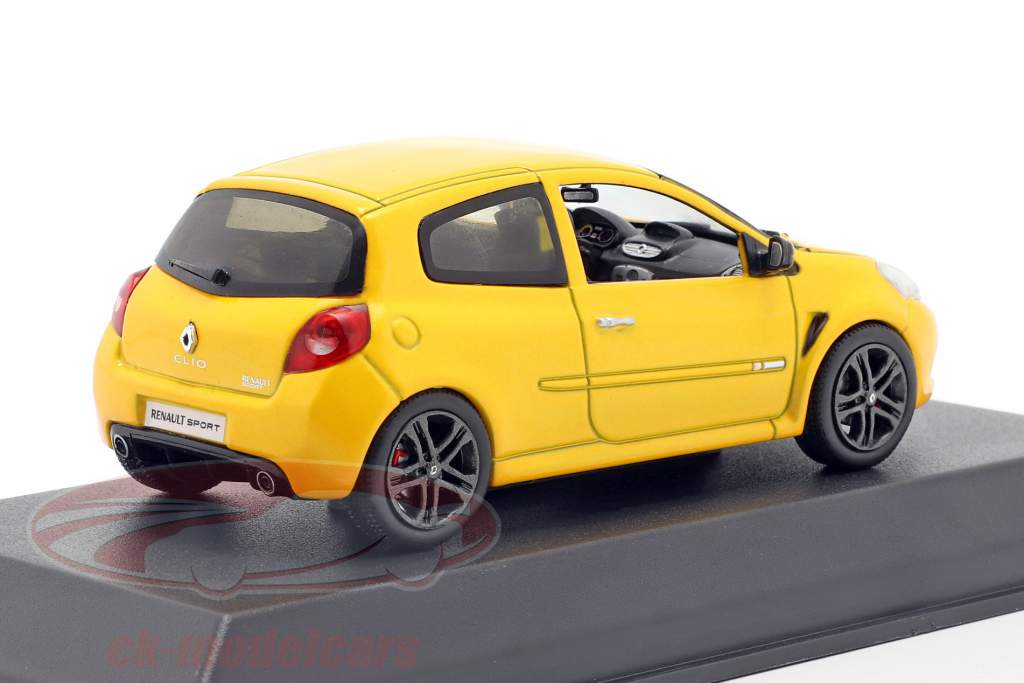 Renault Clio R. S. year 2009 Sirius yellow 1:43 Norev
