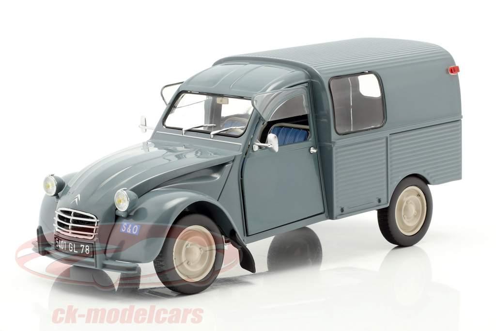 Citroen 2CV Fourgonette AK350 Baujahr 1966 blau 1:18 Norev