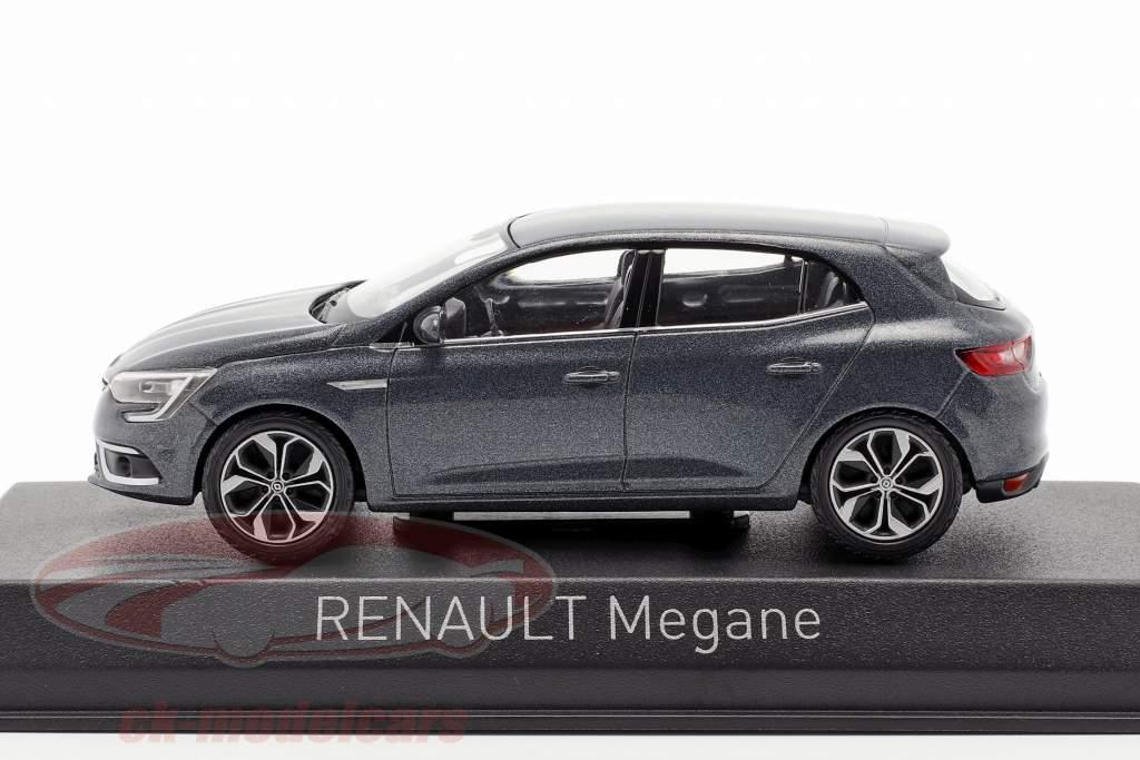 Renault Megane Baujahr 2016 titanium grau 1:43 Norev