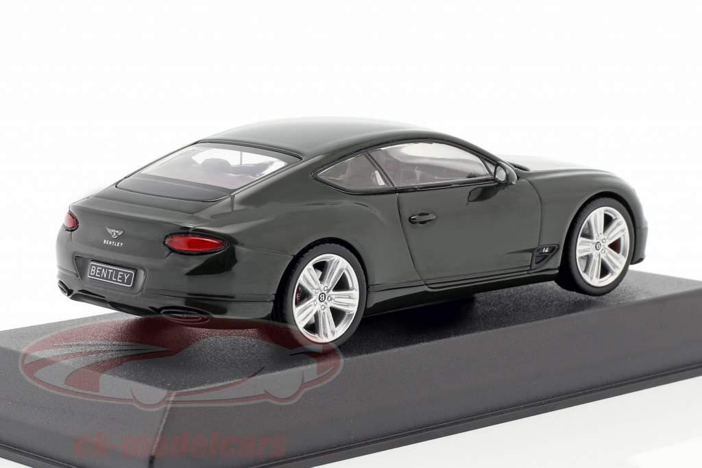Bentley Continental GT anno di costruzione 2018 corsa verde 1:43 Norev