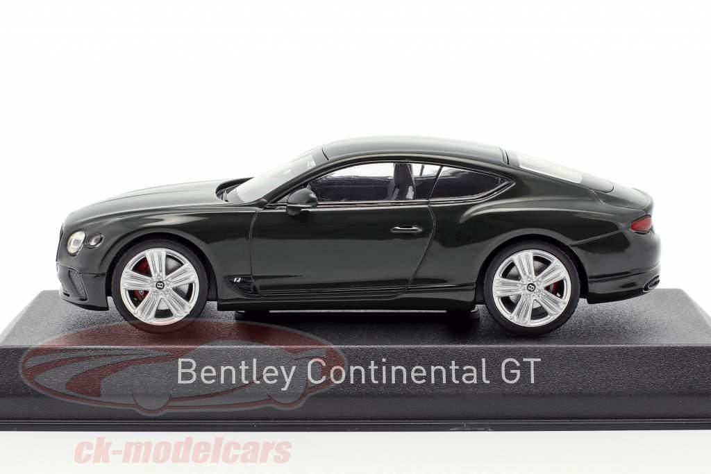 Bentley Continental GT año de construcción 2018 carreras verde 1:43 Norev