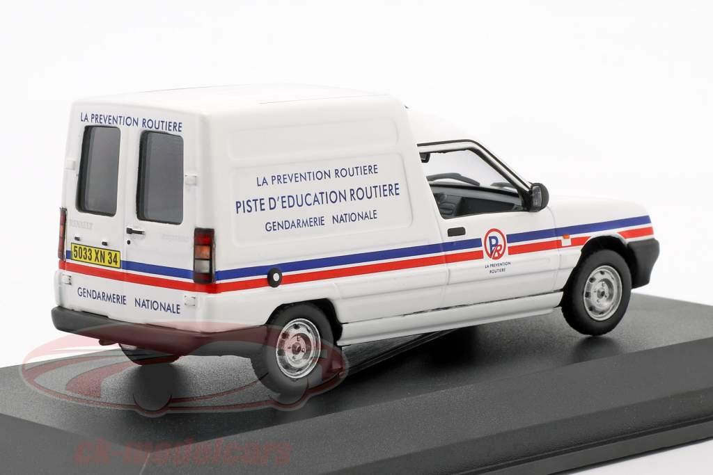 Renault Express ano de construção 1995 gendarmerie branco 1:43 Norev