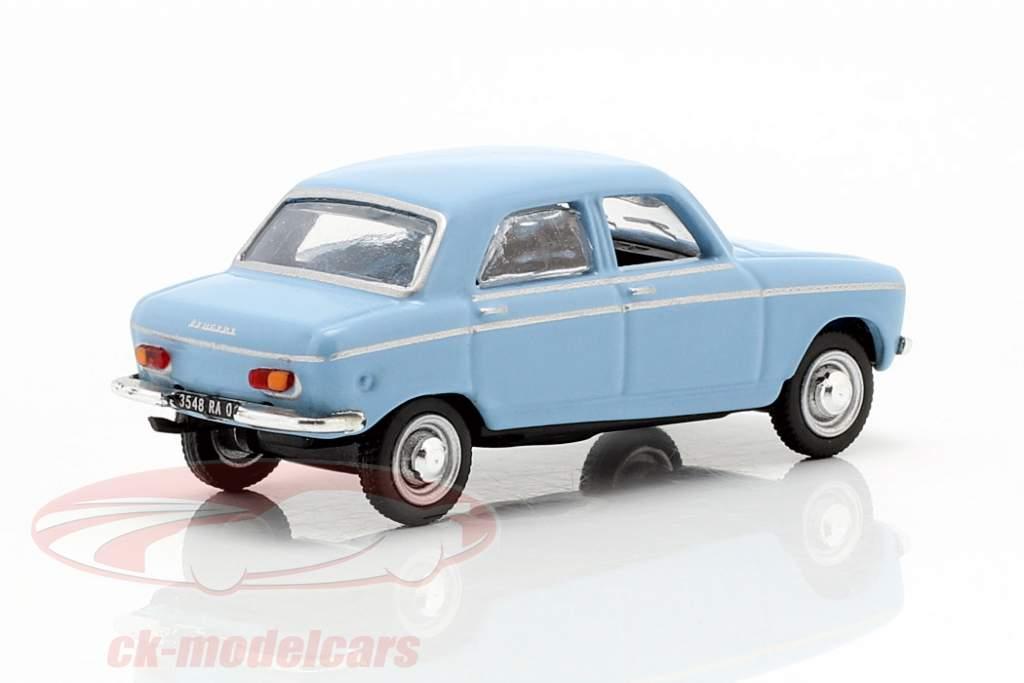 Peugeot 204 année de construction 1966 bleu 1:87 Norev