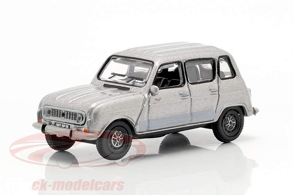 Renault 4 GTL année de construction 1987 gris métallique 1:87 Norev