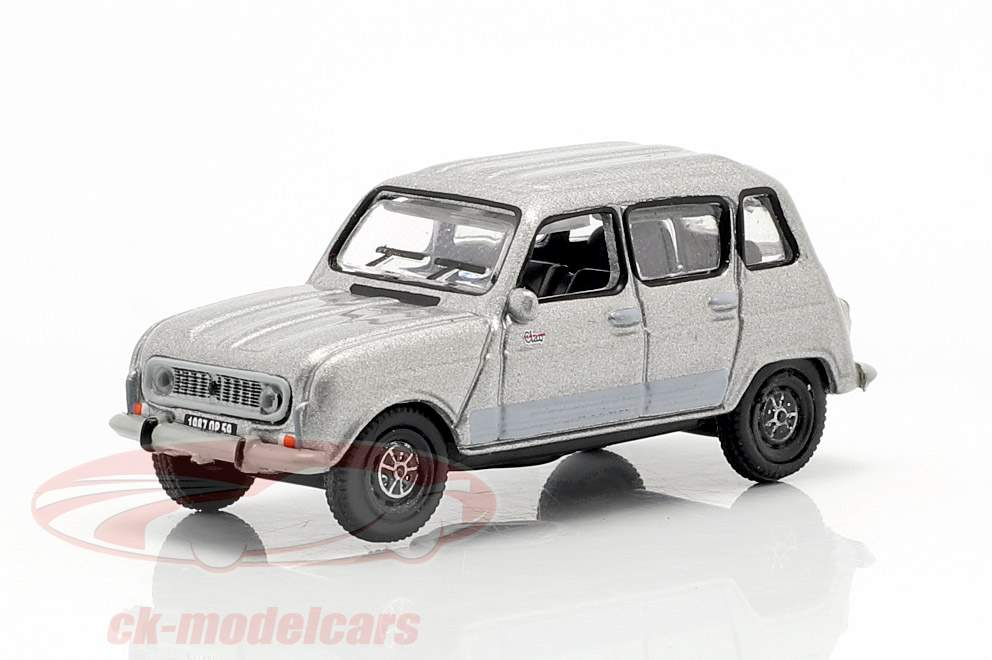 Renault 4 GTL year 1987 grey metallic 1:87 Norev