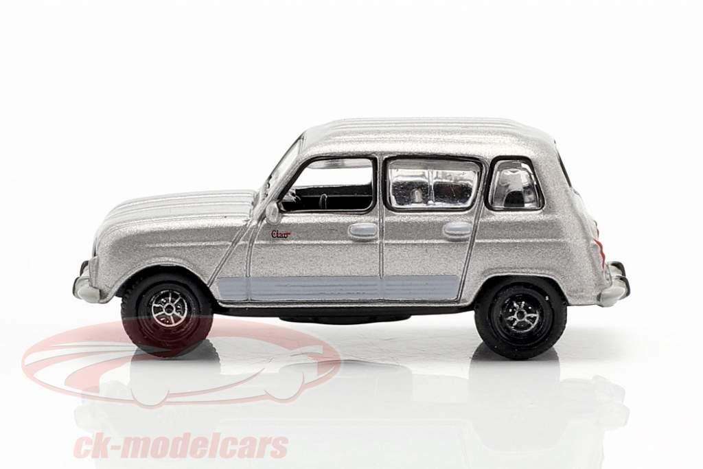 Renault 4 GTL año de construcción 1987 gris metálico 1:87 Norev