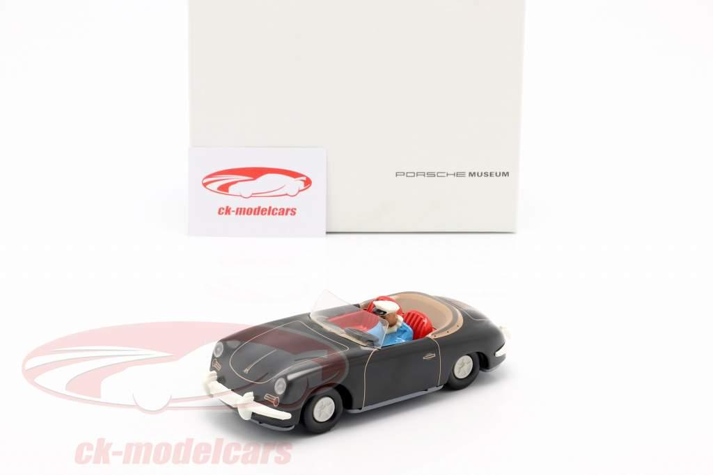 Porsche 356 TuWa coche estaño negro Tippco