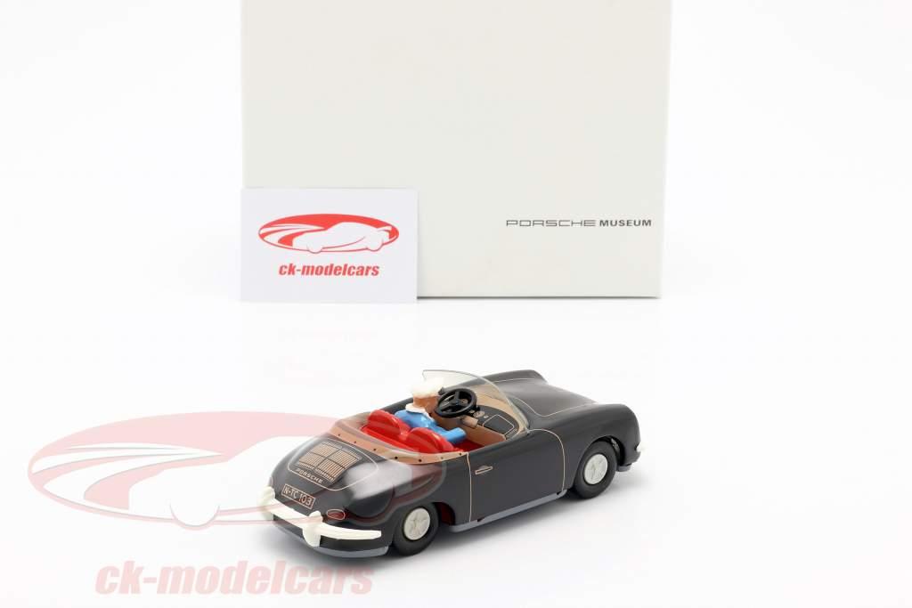 Porsche 356 TuWa tin auto zwart Tippco