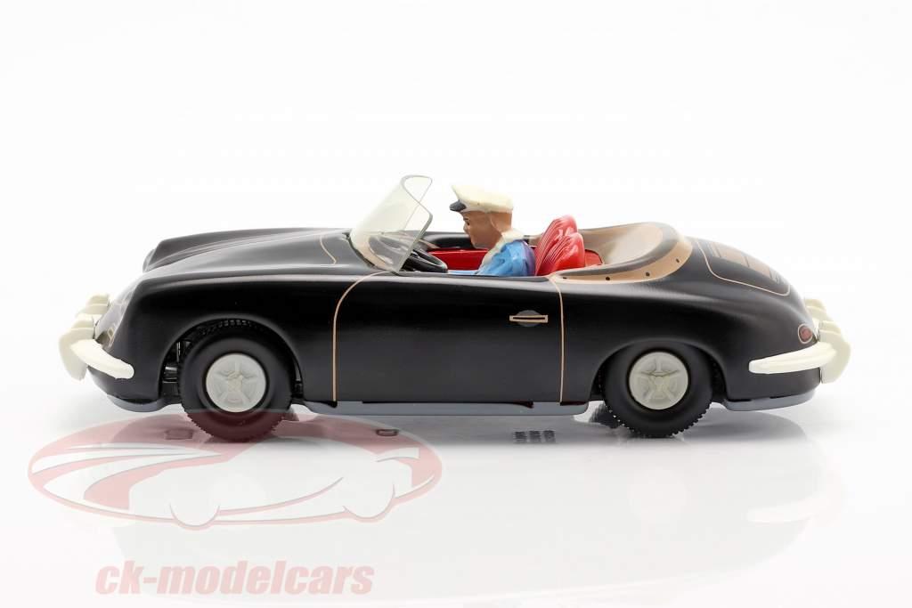 Porsche 356 TuWa Blechauto schwarz Tippco