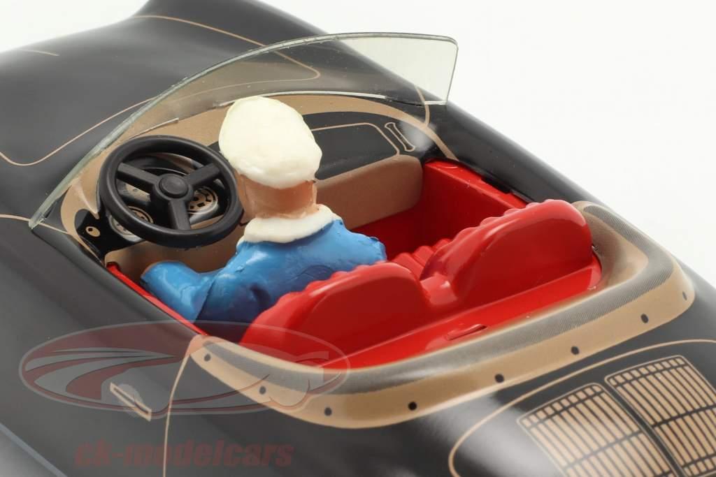 Porsche 356 TuWa carro Tin preto Tippco