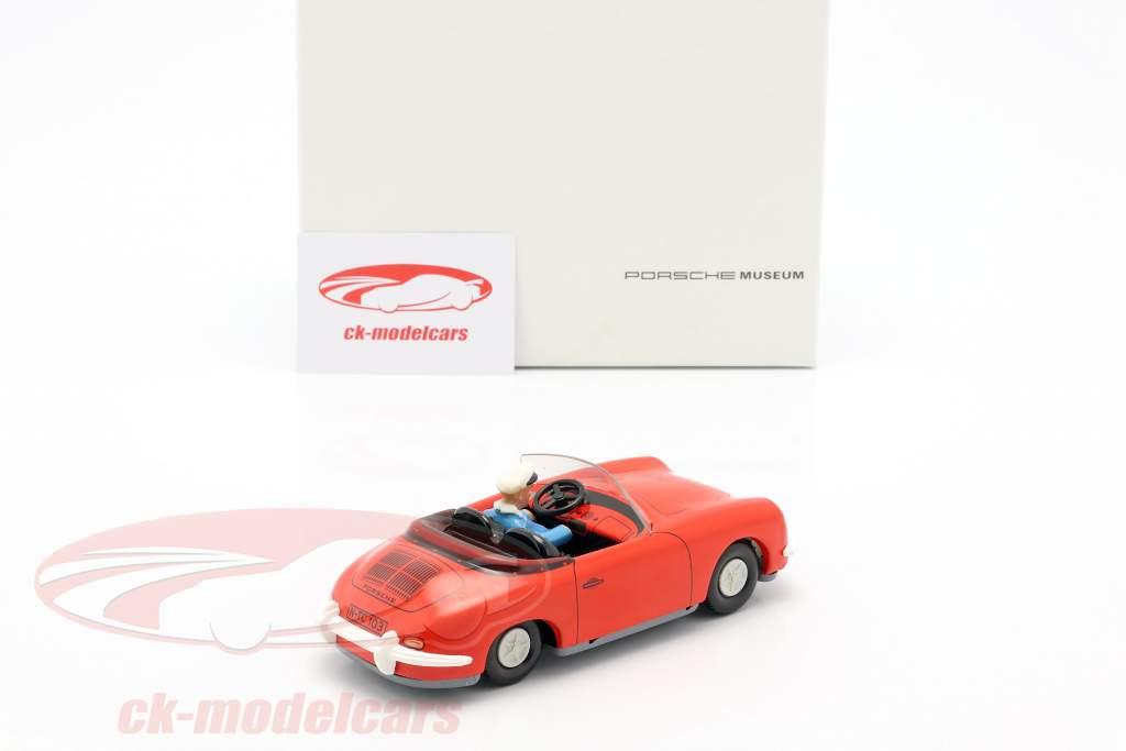 Porsche 356 TuWa tin auto rood Tippco