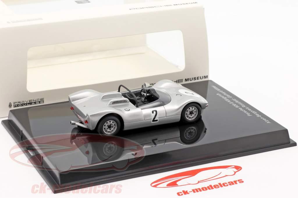 Porsche 906/8 Känguruh #2 Sieger Bergrennen Rossfeld 1965 G. Mitter 1:43 Norev