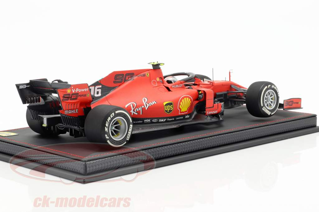 Charles Leclerc Ferrari SF90 #16 5th Australian GP F1 2019 With Showcase 1:18 BBR