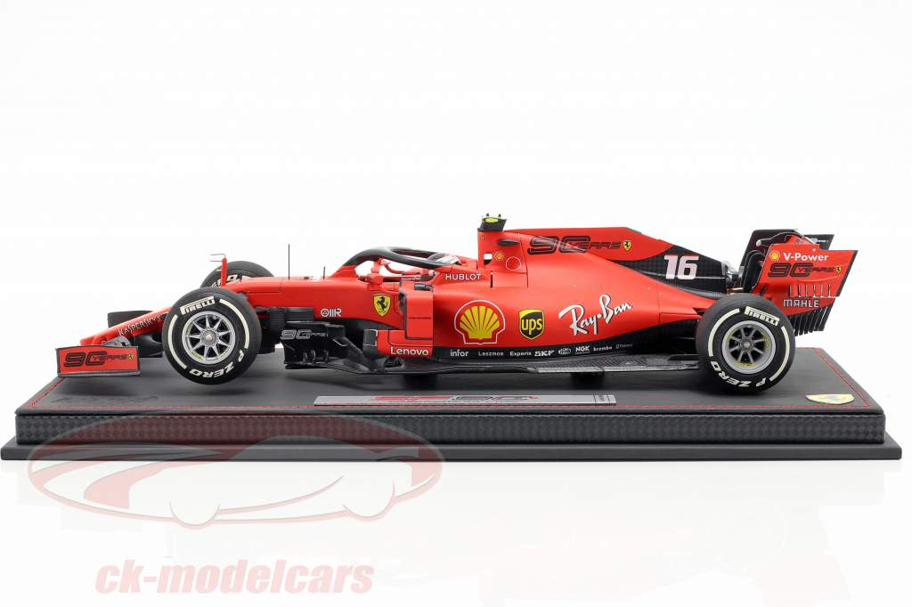 Charles Leclerc Ferrari SF90 #16 5 ° australiano GP F1 2019 con vetrina 1:18 BBR